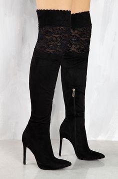 Lola Shoetique - Lace Is More - Black, $52.99 (http://www.lolashoetique.com/lace-is-more-black/)