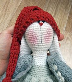 TonTon Doll and Tilda Bunny Free English Pattern - Tiny Mini Design