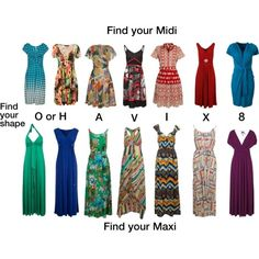 One of the most challenging pieces of clothing for a lot of us is to find is the perfect dress. The main reason being we are usually a different size in the top half compared to the bottom half. find your perfect dress style here