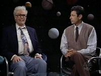 """Will Ferrell as Harry Caray - one of the funniest skits ever!  """"Hey, now Ken, we all know that the moon is not made of green cheese. But, but what if it were made of barbeque spare ribs?  Would you eat it then?""""  LOL!"""