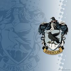 the ravenclaw house crest