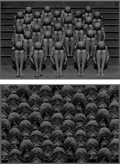 Crowd: Conceptual Photography by Misha Gordin