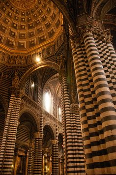 Siena Duomo by Desmond Charles Photography