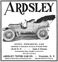 Ardsley (automobile) - Wikipedia, the free encyclopedia
