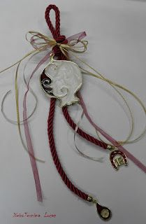 Χειροτεχνημα - Handmade Plant Hanger, Washer Necklace, Charms, Christmas Ornaments, Holiday Decor, Plants, Jewelry, Jewlery, Jewerly