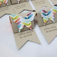 Claudinchens-kreative-Seite: Viele bunte Schmetterlinge
