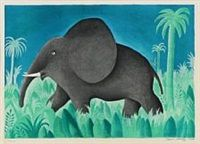 Ensom Elefant by Hans Scherfig