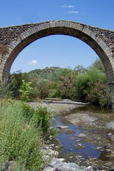 Bridge of Kremasti, Lesbos, Greece