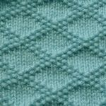 How to knit blocks of different patterns with a cool charity attached.