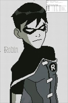 Robin (Young Justice) by Kamitsurka on DeviantArt