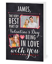 Personalized Valentine's Cards. First one free for new users! Then only 3.50 (Hallmark cards are more than that at the store!) Use code: LOVETREAT