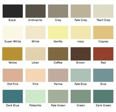 Art Deco era colour palette contained primarily cool colours. The overall  tone of most of