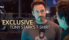 The official Bruce Lee DJing t-shirt as worn by Tony Stark in Avengers Age of Ultron is an exclusive to Vanilla Underground in Europe!