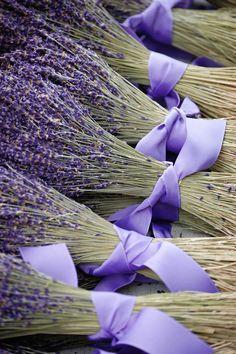 https://flic.kr/p/51FmVy | Lavender | Bundles of lavender at the Newport Flower Show