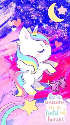 Unicorn Wallpaper Kuda Poni