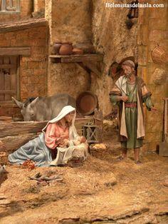 emilio m belenista Christmas Nativity Scene, Christmas Carol, Nativity Sets, Jesus Faith, Free To Use Images, Miniature Rooms, Roman Catholic, Diorama, Christmas Decorations