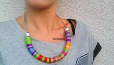 Check out this item in my Etsy shop https://www.etsy.com/listing/242546832/imani-necklace-colorful-necklace-thread