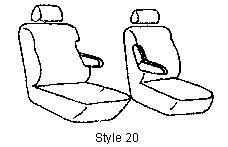 1997 Chevrolet C/K 1500, 2500, 3500 Custom Seat Covers
