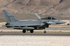 RECOVERY: RED FLAG 16-2 Eurofighter F-2000A Typhoon MM7272 Italian Air Force