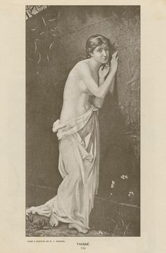 Thisbe, Edouard Jerome Paupion