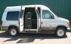 Eureka Solutions - Toit surélevé Vehicle conversion  Adaptation automobile  1-866-562-2555