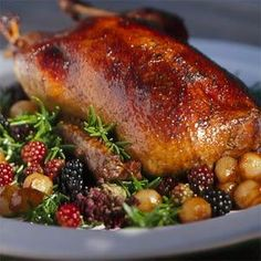 Glazed Long Island Duck Recipe | MyRecipes.com