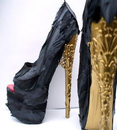 I think that these are the most beautiful shoes I've ever seen