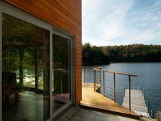 lakeshore in Vermont