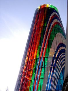 Expo92 Tower #architecture #color #facade