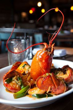 Cantonese Lobster by Chef Hung Huynh of Catch - New York, NY. Photo by Shannon Sturgis