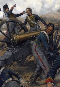 Royal Horse Artillery, by Karl Kopinski