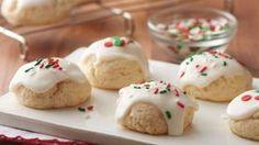Easy Italian Christmas Cookies Italian Christmas Cookie Recipes, Italian Cookies, Christmas Desserts, Christmas Recipes, Christmas Treats, Holiday Recipes, Holiday Baking, Christmas Baking, Christmas Christmas