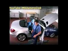 Mercedes Benz SLK | Perform hydraulic pressure test - YouTube