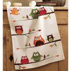 Owl towel. :)
