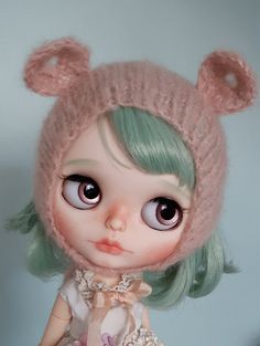Custom Blythe OOAK art doll 'Romy' by Eskabelle on Etsy