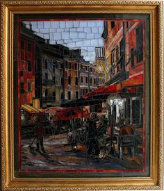 Showcase Mosaics Gallery of Fine Art Mosaics and Original Oil Paintings Available for Sale