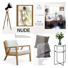 """Nude"" by helenevlacho ❤ liked on Polyvore featuring interior, interiors, interior design, home, home decor, interior decorating, Gus* Modern, SCP, Missoni Home and From the Road"