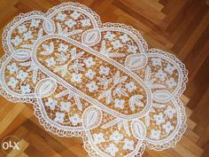 msz Romanian Lace, Point Lace, Irish Crochet, Hobbies And Crafts, Doilies, Projects To Try, Diy Crafts, Creative, Handmade