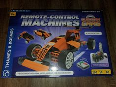 Thames & Kosmos Remote Control Machines Custom Cars Building Kit Kid Engineering #ThamesKosmos Engineering Kits, Automotive Engineering, Semi Trailer Truck, Customize Your Car, Off Road Buggy, Wooden Boat Plans, The Company Store, Science Kits, Remote Control Cars