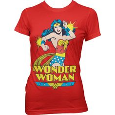 Wonder Woman Girly Tee