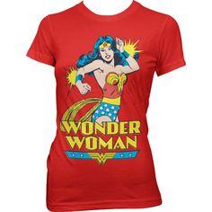 6ed09775 DC Comics Wonder Woman T Shirt Women Printed Short Sleeve Casual Ladies Tee  US size - Superhero Universe