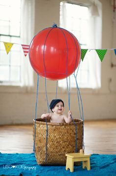 Like the idea of a hot air balloon for a shoot, but would make it look different