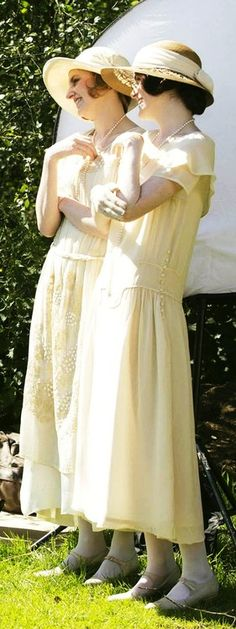 Lady Mary & Lady Edith- Downton Abbey