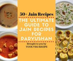 The Ultimate Guide with Jain Recipes for Paryushan! Be it Jain recipes for breakfast or main-course or parna, be it curries, rice or paratha's, or be it snacks, this will be your ultimate guide. Veg Breakfast Recipes, Healthy Veg Recipes, Vegetarian Recipes, Snack Recipes, Vegan Vegetarian, Yummy Recipes, Yummy Food, Jain Recipes, Paneer Recipes