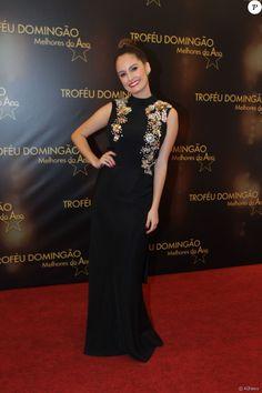 Amanda De Godoi usou vestido longo da marcaPrinting