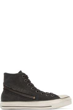 f7d4306412bb Converse by John Varvatos - Black Tornado Zip High-Top Sneakers John  Varvatos