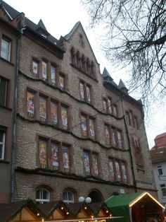 Advent Calendar in Göttingen, Germany