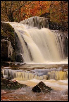Talybont Waterfalls, South Wales