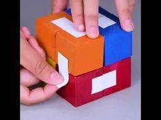 DIY Infinity Photo cube - YouTube