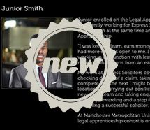 Graduate profile interviewing and profile writing for the Law School at Manchester Metropolitan University.